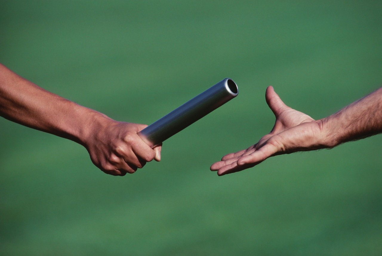Passing the baton to men who will follow Jesus | StrongStakes ...
